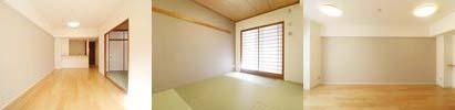 使えるものを生かし新しく輝ける場所へリノベーションした一室です。